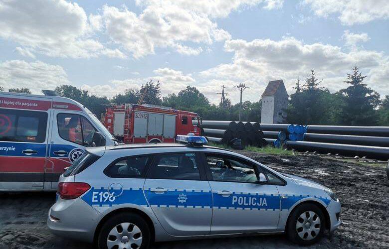 В Польщі на будові 10-тонна труба розчавила чоловіка