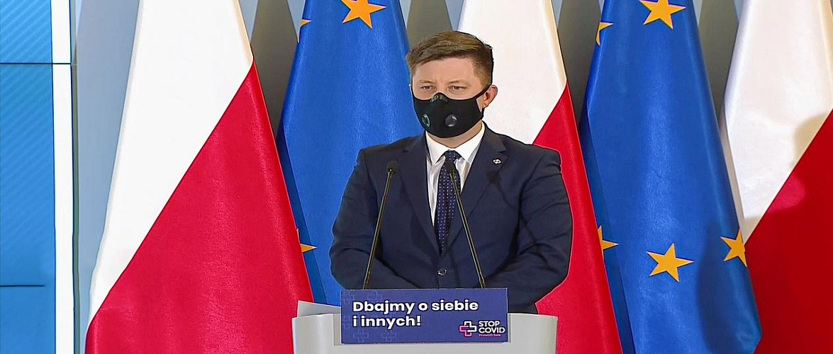 Польським журналістам під час урядової конференції відключили мікрофони