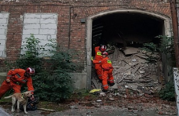 У Варшаві завалилася частина старої кам'яниці [+ФОТО]
