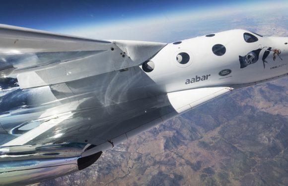 Перший космічний туристичний політ VSS Unity [+ВІДЕО]