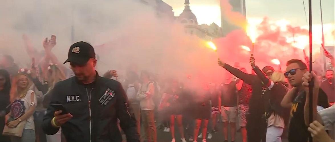 Столиця Польщі відзначила 77 річницю Варшавського повстання [+ВІДЕО]