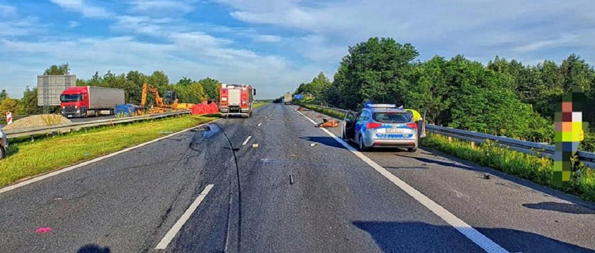 Кошмарна аварія під Вроцлавом, водія збирали по частинам