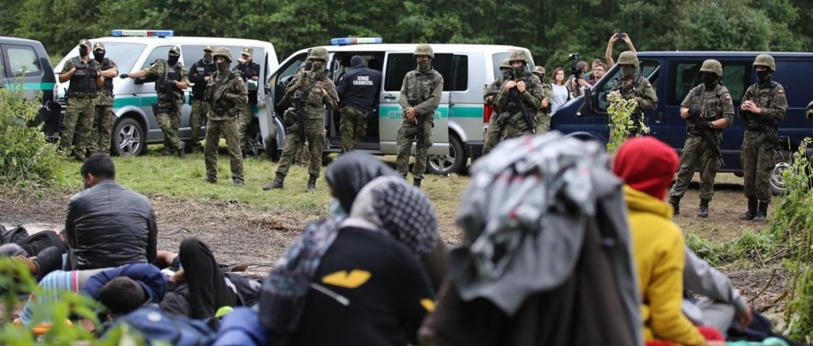 Кількість біженців до Польщі різко зросла