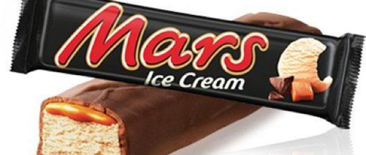 Морозиво «Марс» знято з продажу в Польщі