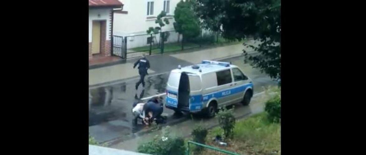 У Польщі під час затримання поліцією чоловік помер [+ВІДЕО]