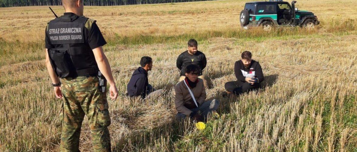За вихідні на польському кордоні затримали 349 нелегалів
