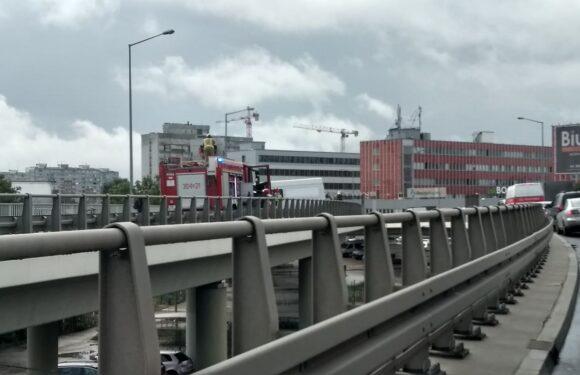 У Вроцлаві через ДТП мікроавтобусу транспортний колапс на кількох вулицях (+ФОТО)