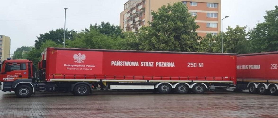 Польща відправила гуманітарну допомогу нелегальним мігрантам на кордоні з Білоруссю