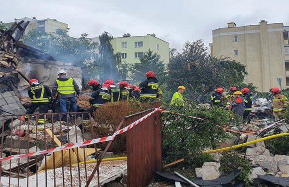 У польському Торуні повністю завалився будинок [+ФОТО]