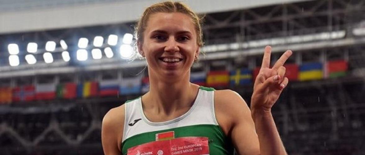 Білоруська спортсменка Христина Тимановська отримала Польську візу