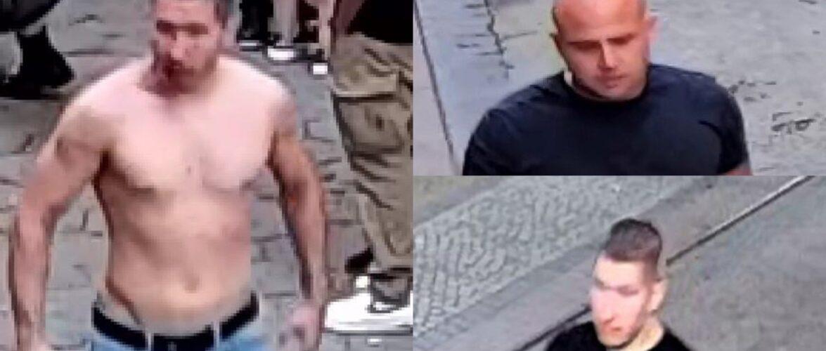 Польська поліція просить про допомогу в пошуках злочинця, який у Вроцлаві побив чоловіка [+ФОТО]