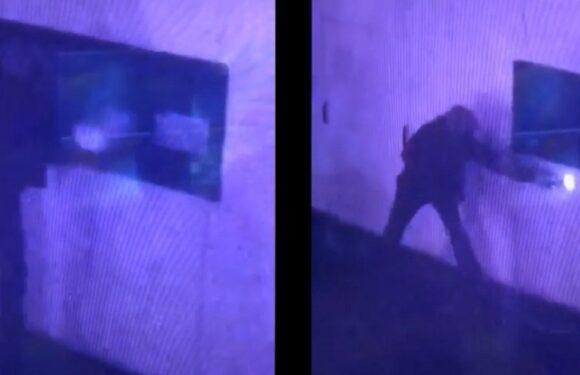 За видачу підпалювач пункту щеплень у Замосці винагорода 10 000 злотих — поліція оприлюднила відеозапис [+ВІДЕО]