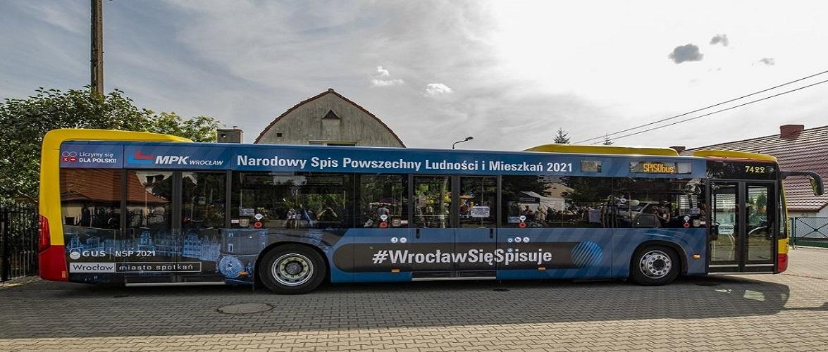 На вулицях Вроцлава з'являться автобуси, в яких проводитимуть перепис населення