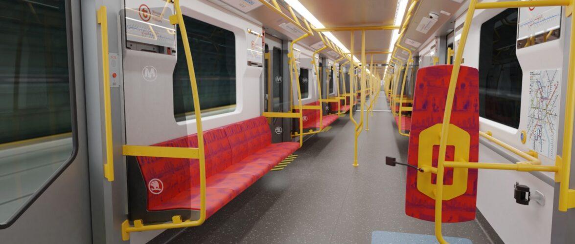 Варшавське метро отримає нові потяги [+ФОТО]