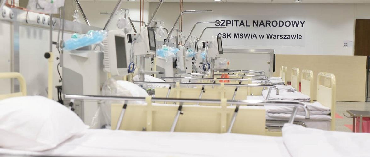 У Варшаві готується відновлення роботи лікарні на Національному стадіоні
