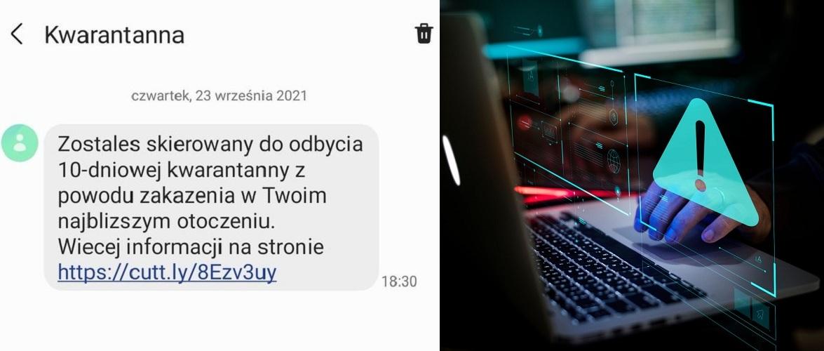 Надійшла подібна SMS щодо карантину? Новий вид шахрайства у Польщі