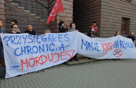 Вбивство Дмитра Нікіфоренка в Польщі: у Вроцлаві протестували через дії поліції (ФОТО, ВІДЕО)