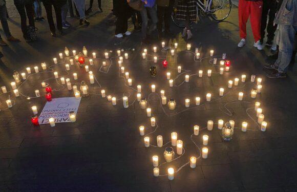 У Вроцлаві вшанували пам'ять загиблих мігрантів на польсько-білоруському кордоні [+ФОТО]