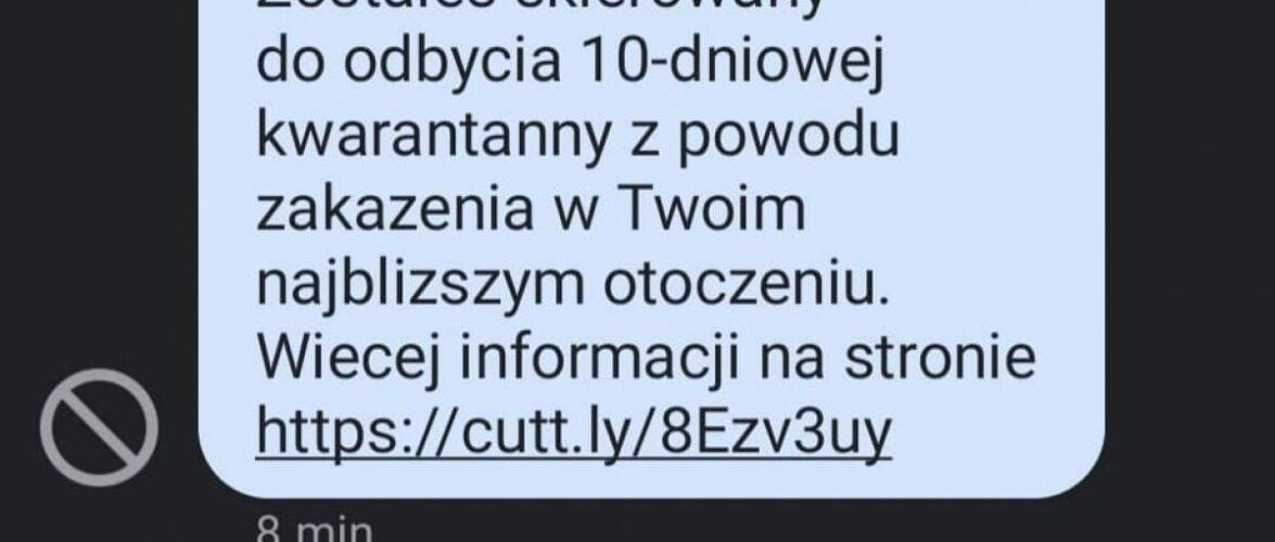 Нова афера в Польщі: людям приходять «липові» СМС про проходження карантину