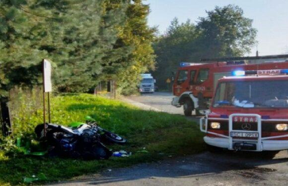 В ДТП в Польщі серйозно постраждав 27-річний українець-мотоцикліст
