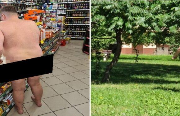 У Польщі абсолютно голий прокурор розгулював містом і навіть зробив закупи в такому вигляді