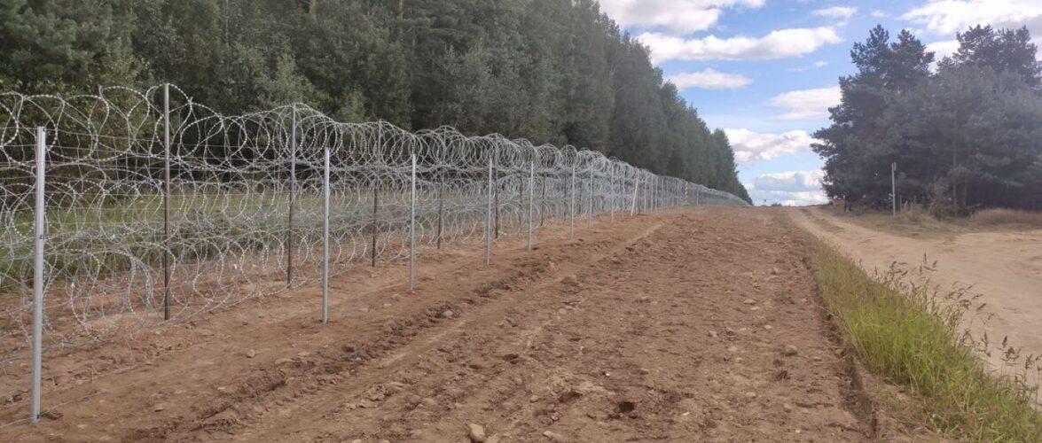 Польща вже збудувала 40 км загороди на кордоні з Білоруссю