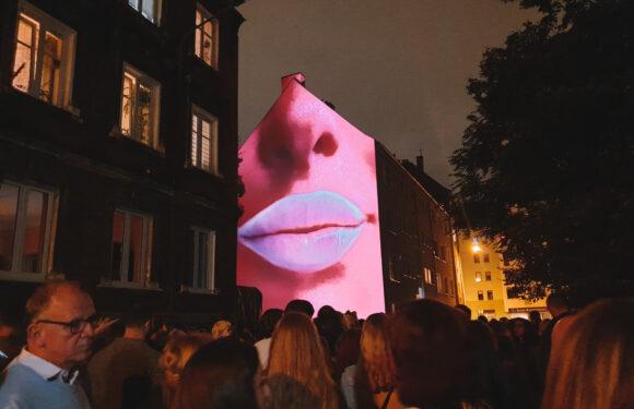 Kinomural во Вроцлаве — стены домов изменились в уличный 3D кинотеатр   (+ФОТО)