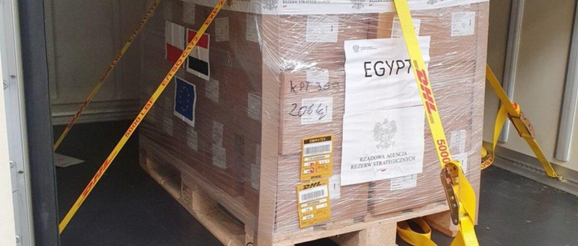 Польща подарувала Єгипту 100 тисяч доз вакцини