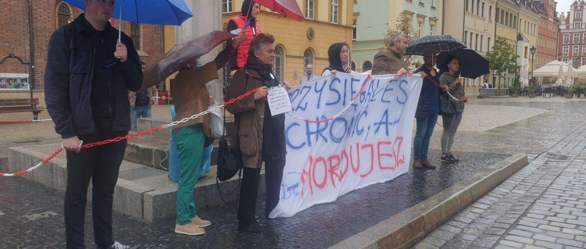 У Вроцлаві через непогоду відмінився марш з приводу смерті Дмитра Нікіфоренка (ФОТО)