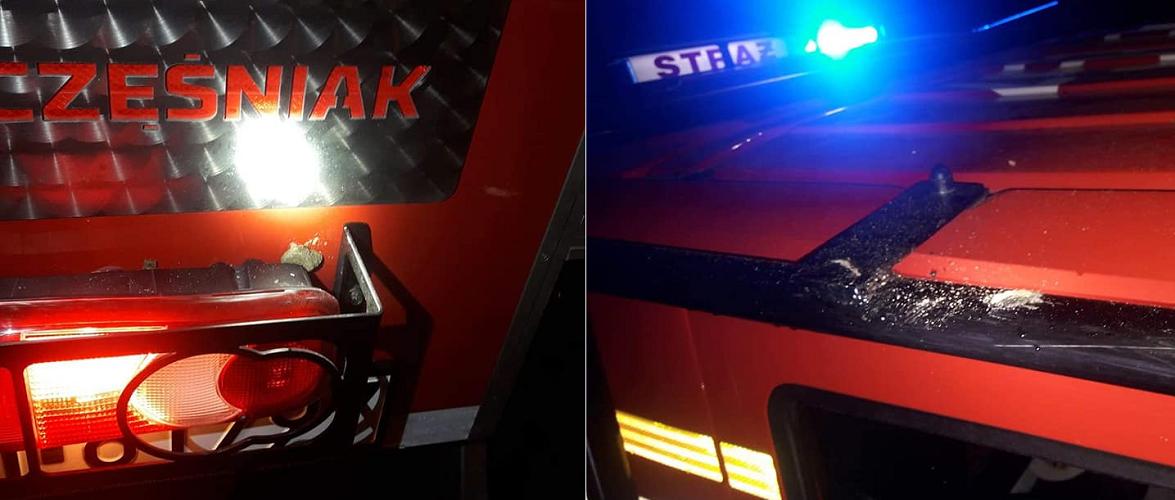 У Польщі пожежників замість подяки закидали камінням [+ФОТО]