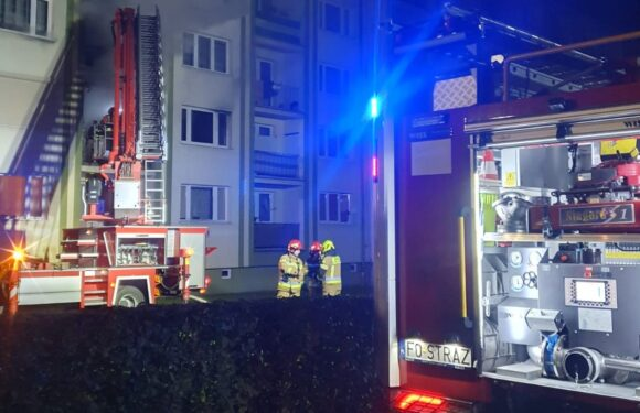 В пожежі у Польщі живцем згоріла жінка [+ФОТО]
