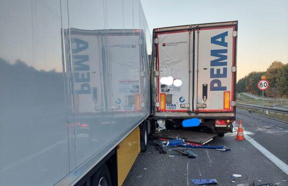 В Польщі сталась смертельна аварія: зіткнулось 3 вантажівки [+ФОТО]