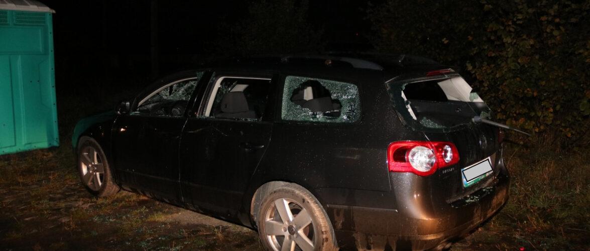 Українець в Польщі кидав камінням в авто: завдав збитків на 12 тисяч злотих [+ФОТО]